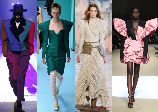 画像: Marc Jacobs、Gucci、Zimmermann、Alexander McQueen。