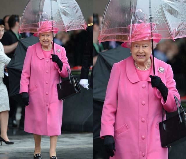画像1: エリザベス女王の「雨の日コーデ」に欠かせないオシャレすぎるこだわりって?