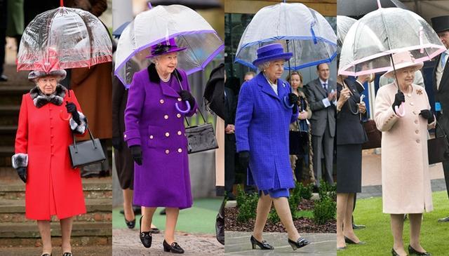 画像8: エリザベス女王の「雨の日コーデ」に欠かせないオシャレすぎるこだわりって?
