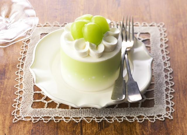 画像: コージーコーナー新作ケーキ「シャインマスカットのコージープリンセス」販売