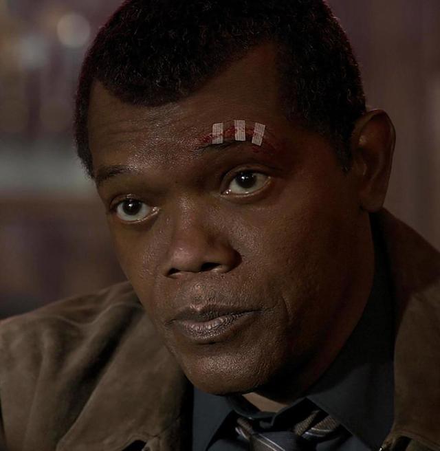 画像1: Samuel L JacksonさんはInstagramを利用しています:「Wow, this Marvel de-aging thing is doper than I thought!#twoeyedfury#captainmarvelmovie」 www.instagram.com