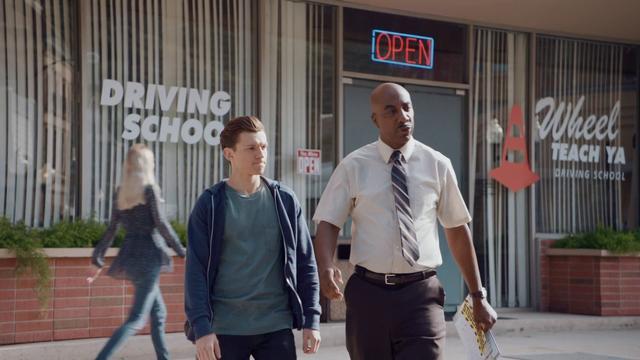 """画像: Audi """"Driver's Test"""" Trailer - Spider-Man: Homecoming www.youtube.com"""