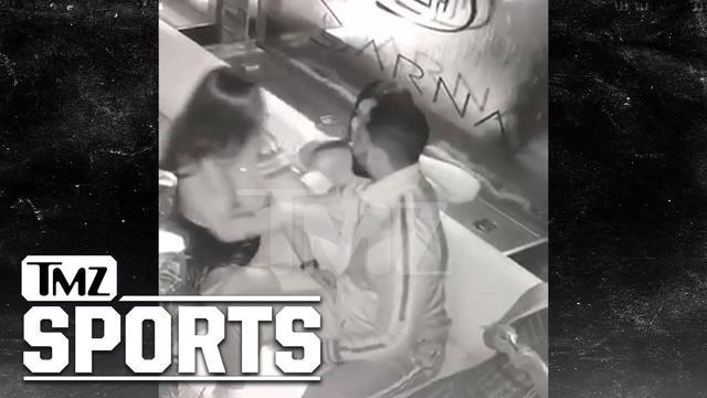 画像: 流出したトリスタンの浮気現場を抑えた動画。TMZ Sports www.youtube.com