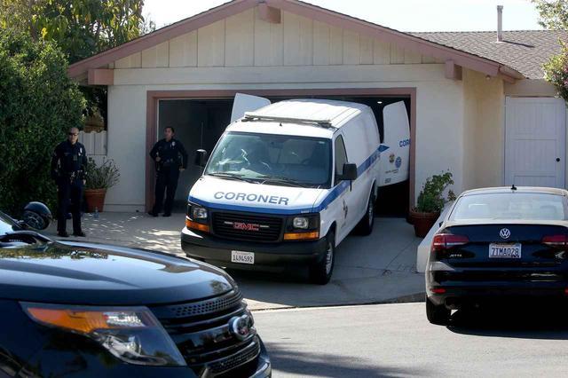 画像: 事故当時のマックの自宅前の様子。