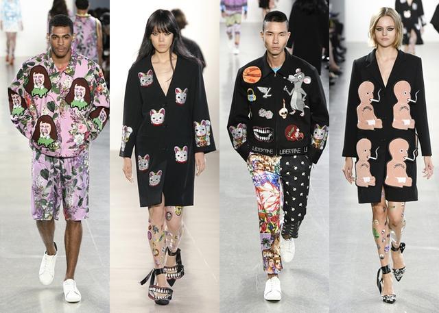 画像: ゴージャスすぎる「指サック」がファッションウィークのランウェイに登場!