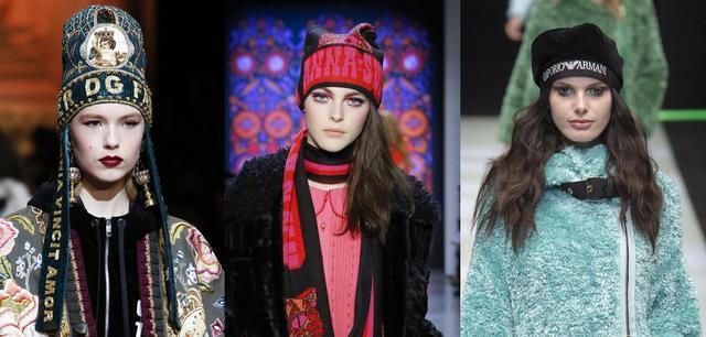 画像: Dolce &Gabbana、Anna Sui、Emporio Armani