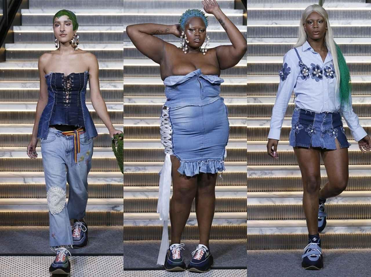 画像2: マドンナ娘、過激な「貝殻ブラ」スタイルでランウェイデビュー