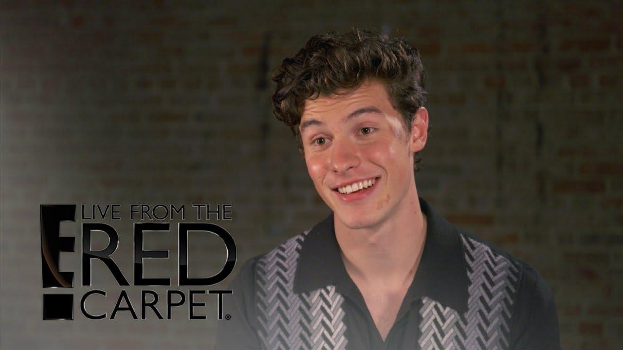画像: Shawn Mendes Talks Bruised Face After Scooter Accident | E! Live from the Red Carpet www.youtube.com