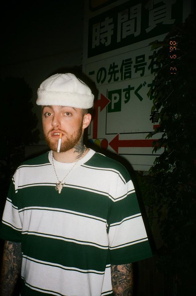 画像: フランキーがコメントと一緒に投稿したマックの写真。背景からこの写真が撮影されたのは日本だということがわかる。 twitter.com