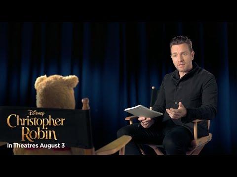"""画像: Christopher Robin """"Welcome to the Hundred Actor Wood"""" Featurette www.youtube.com"""