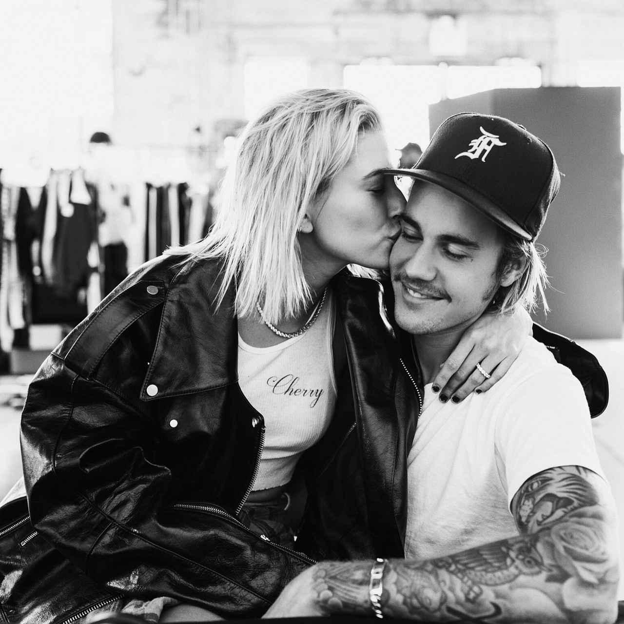 画像1: Justin BieberさんはInstagramを利用しています:「Was gonna wait a while to say anything but word travels fast, listen plain and simple Hailey I am soooo in love with everything about you!…」 www.instagram.com