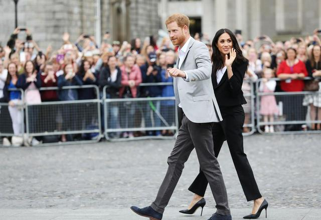 画像1: メーガン妃&ヘンリー王子の意見が一致