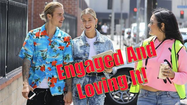 画像: EXCLUSIVE - Justin Bieber And Hailey Baldwin Give The Sweetest Interview To Fans On The Street! www.youtube.com