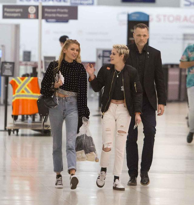 画像3: クリステン・スチュワート&ステラ・マックスウェル、空港でのレア写真をゲット
