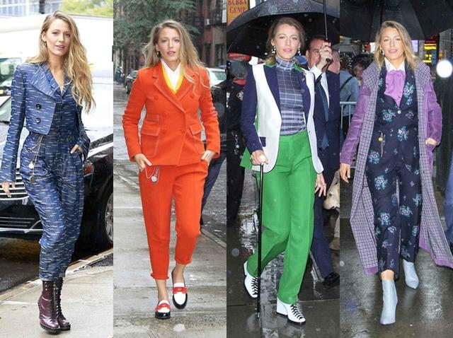 画像: 1日に5着のスーツルックを披露したことも。ある日は朝だけで4着もスーツを着こなしていた。