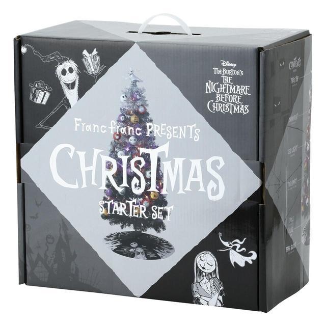 画像1: フランフラン、映画『ナイトメアー・ビフォア・クリスマス』のクリスマスツリーを限定発売