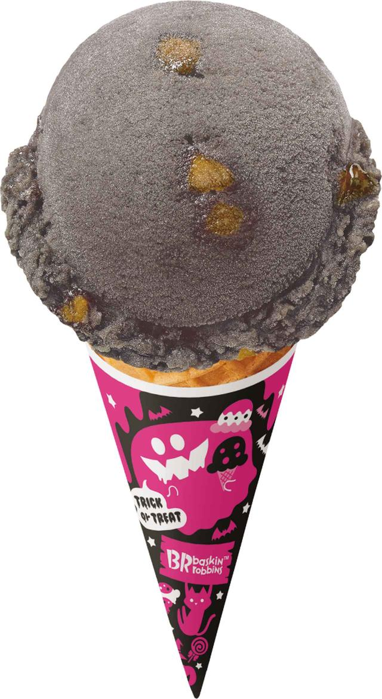 """画像1: サーティワンアイスクリームがハロウィン限定、焼きりんごの""""ミッドナイトアップル"""""""