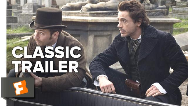 画像: Sherlock Holmes (2009) Official Trailer #1 - Robert Downey Jr., Jude Law Movie HD www.youtube.com