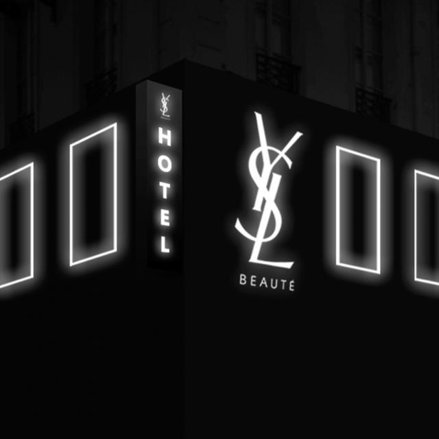画像1: イヴ・サンローランBEAUTYがプロデュースするコンセプトホテルが2日間限定で表参道に出現!