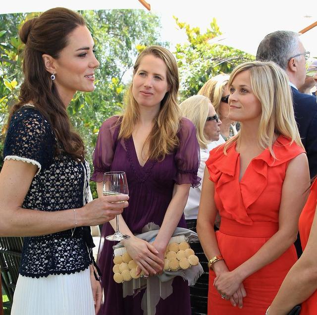 画像: 2011年のイベントにて、初対面を果たしたキャサリン妃とリース。