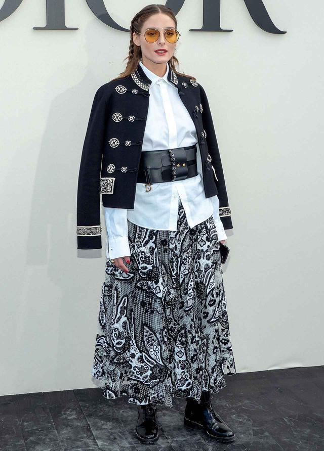 画像4: さすがオシャレ番長!オリヴィア・パレルモのファッションウィーク・スナップ8連発