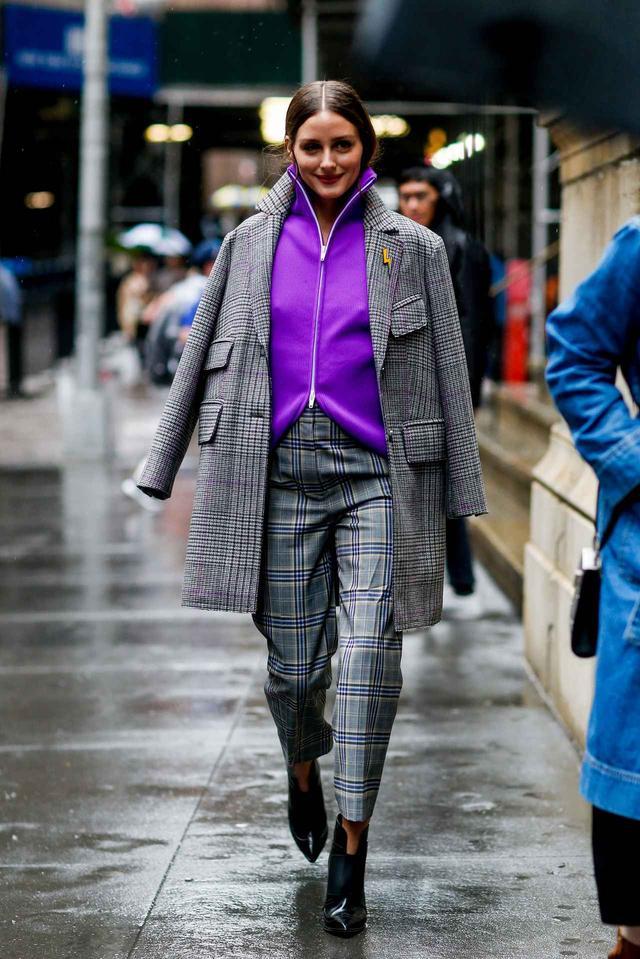 画像1: さすがオシャレ番長!オリヴィア・パレルモのファッションウィーク・スナップ8連発