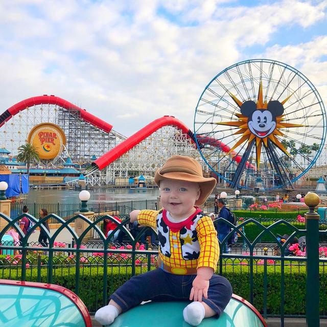 "画像1: Tucker on Instagram: ""Who is ready for the @Pixar magic of Pixar Pier? It is safe to say that this will become my favorite part of @Disneyland  I can't believe…"" www.instagram.com"