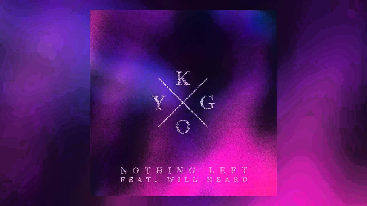 画像: Kygo feat. Will Heard - Nothing Left (Cover Art) www.youtube.com
