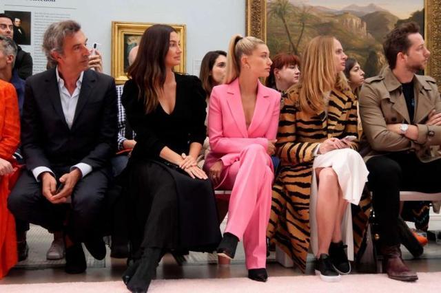 画像2: ニューヨークファッションウィークはフロントロウで