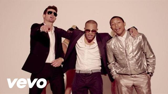 画像: Robin Thicke - Blurred Lines (Unrated Version) ft. T.I., Pharrell www.youtube.com