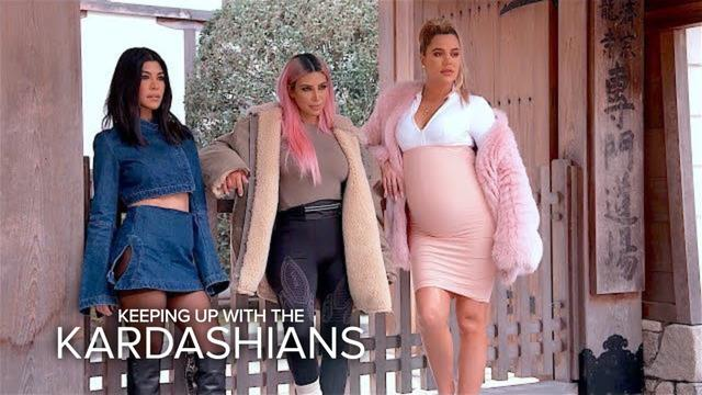 """画像: """"Keeping Up With The Kardashians"""" Katch-Up S15, EP.9   E! www.youtube.com"""