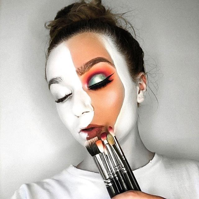 """画像1: OLIVIA FISHWICK  on Instagram: """" DON'T BLEND IN  #blankcanvas - so this week's YouTube video has officially been filmed and is being edited right now! It's been a long…"""" www.instagram.com"""