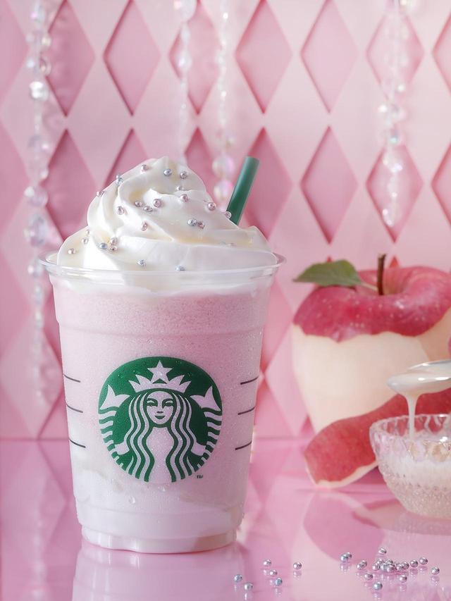 画像2: スターバックス新作は、ダークアップルorミルクアップル味 2つのフラペチーノ!