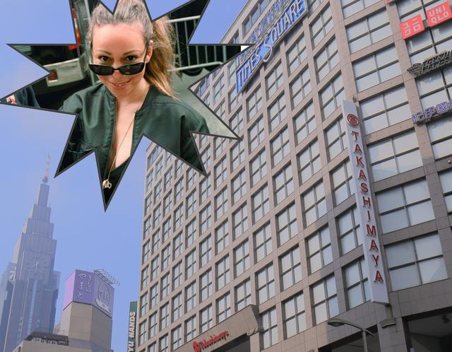 画像: プリクラに乱入!新宿高島屋ジャック