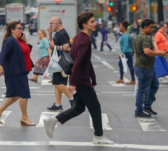 画像1: ニューヨーカーのティモシーがNYを歩くと…