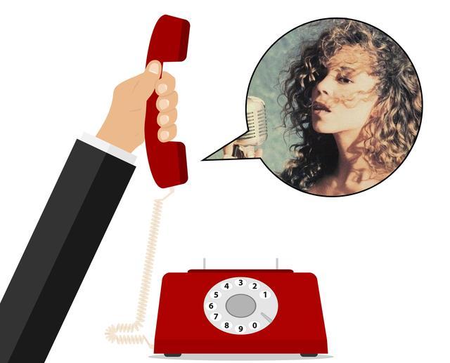 画像: 電話で7オクターブを熱唱
