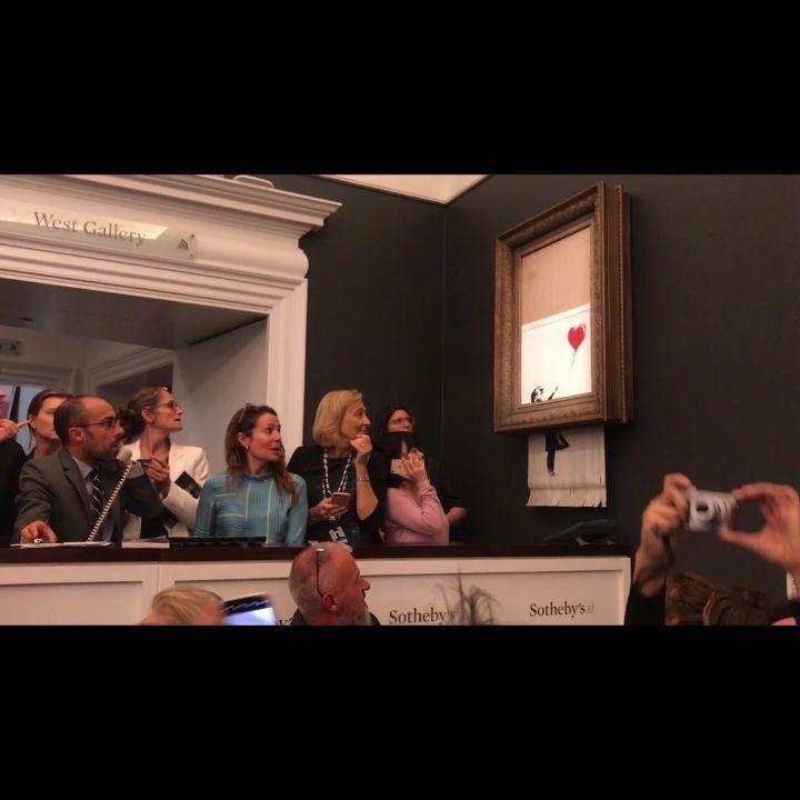"""画像1: BanksyさんはInstagramを利用しています:「. """"The urge to destroy is also a creative urge"""" - Picasso」 www.instagram.com"""