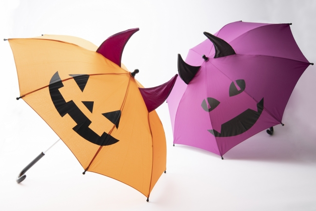 画像: Umbe+(傘・レイングッズ・雑貨) ハロウィーン傘 税込2,000円