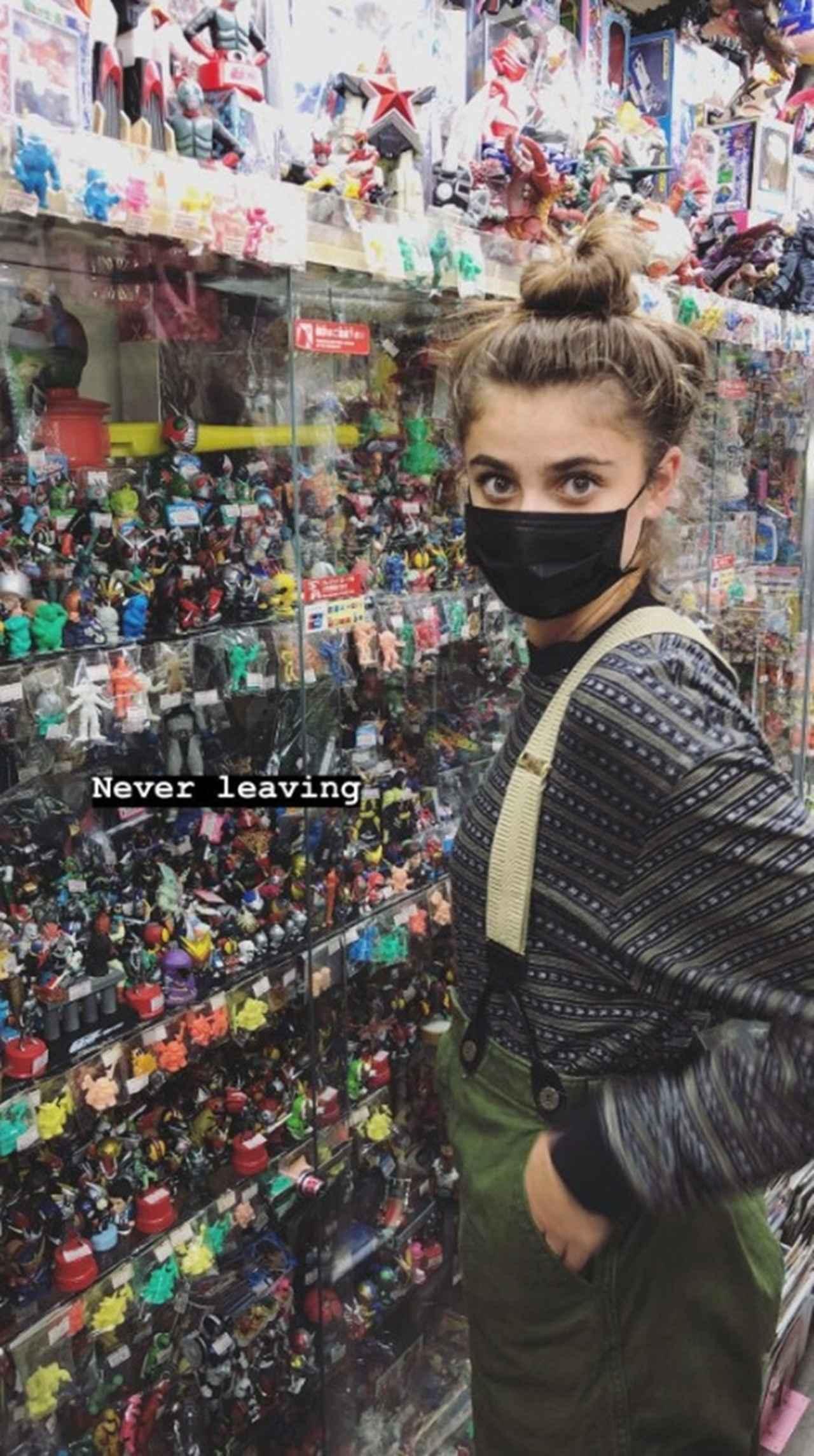 画像: テイラー・ヒル、日本で「離れたくない」と大興奮した場所はどこ?