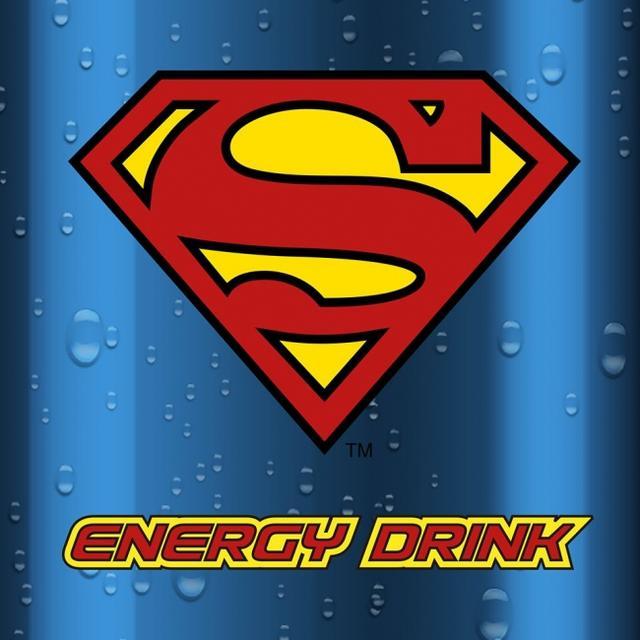画像1: スーパーマンが、エナジードリンクに!