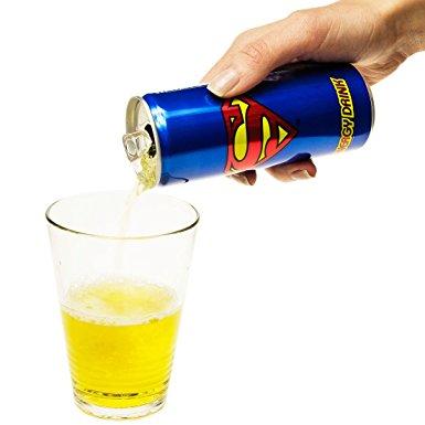 画像2: スーパーマンが、エナジードリンクに!