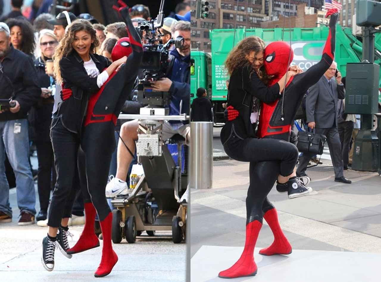 画像5: 新作『スパイダーマン』の撮影が終了