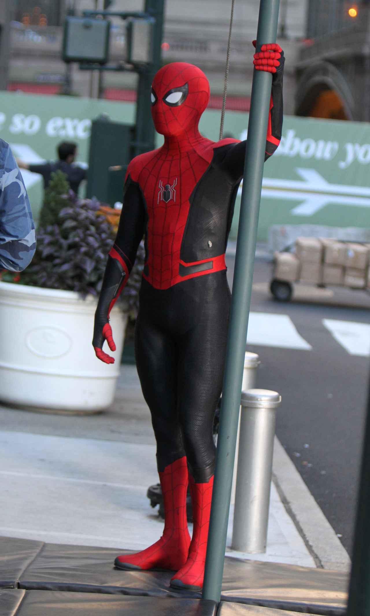 画像4: 新作『スパイダーマン』の撮影が終了