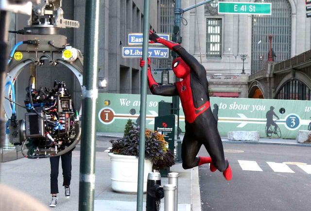 画像8: 新作『スパイダーマン』の撮影が終了