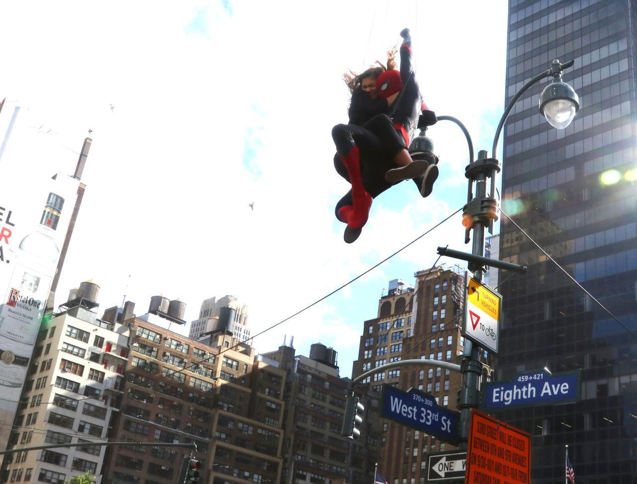 画像6: 新作『スパイダーマン』の撮影が終了