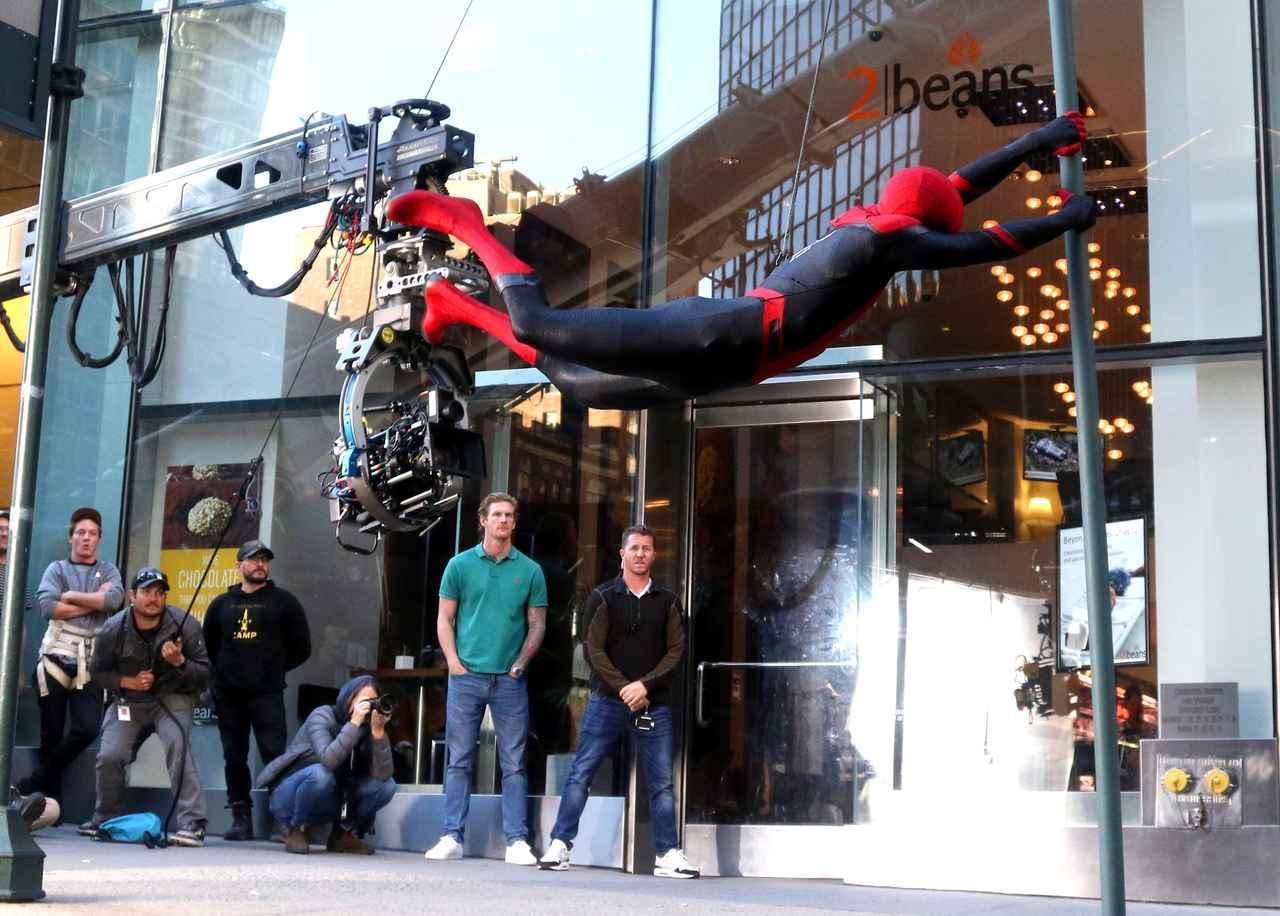 画像9: 新作『スパイダーマン』の撮影が終了
