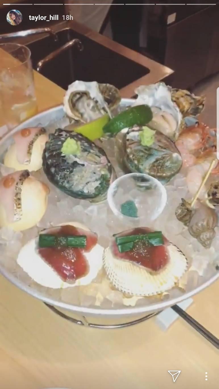 画像4: テイラーが日本で食べたものとは?
