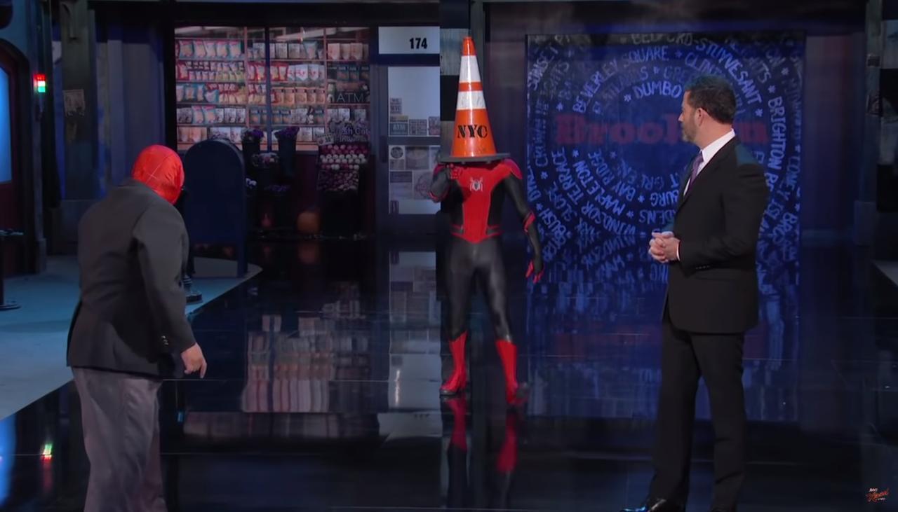 画像1: 本当にスパイダーマンみたいなトム・ホランド