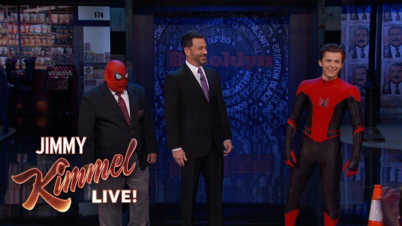 画像: Guillermo vs Spider-Man Tom Holland www.youtube.com