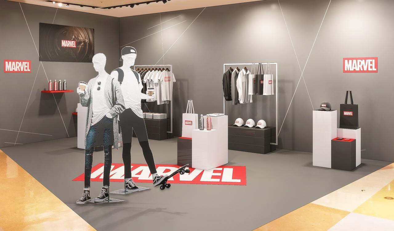 画像: 限定3店舗にてディズニーストア初となる「マーベルコーナー」を展開